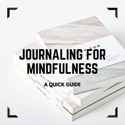 Journaling formindfulness
